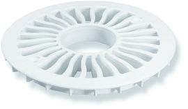 Plastic 130mm Grate with Inlet