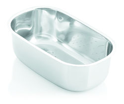 Stainless Steel Wash Bowl, Round
