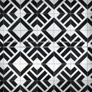 Purus Line Premium in Black & White Tiles