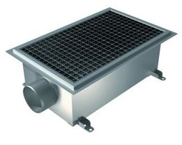 500x300 Deep, Side 110mm Gully, L15 Grate, Industrial Channel for Resin