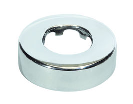 Floor and wall flange